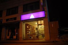 manystuff.org – Graphic Design, Art, Publishing, Curating… » Blog Archive » The Book Society / Opening #signage #logo #triangle