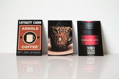 Loyalty Card #beverage #card #american #graphic #design #food #sweet #advertising #coffee #cup