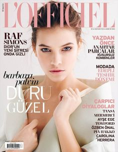 Beauty model Barbara Palvin photographed by Emre Guven and styled by Ayca Elkap for the May issue of L'Officiel Turkey.