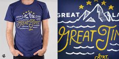 Great Times T shirt design by Smiths Canvas Mintees #shirt