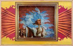 Dan Bina, Napolean a la Reno #cut #bina #dan #reliefe #vintage #art #collage