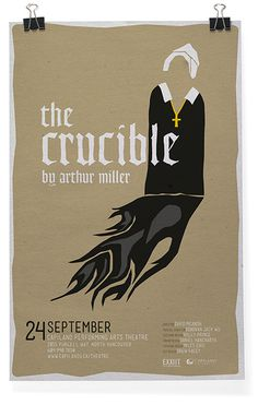 The Crucible #theater #design #poster