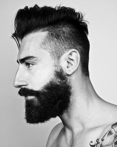 menino-levado #profile #nose #beard #haircut #portrait