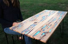 DIY: Glow table #diy #table