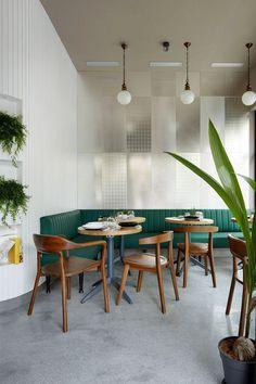Kinza Cafe in San Sebastian, Azovskiy Pahomova Architects 3