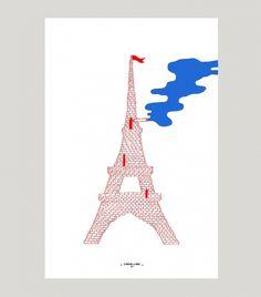 + Poster Effeil + Commune de Paris, 1871 + #eiffel #france #paris #effeil