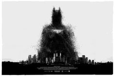 (2) Tumblr #movie #city #graphic #batman #poster #art