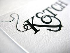 FFFFOUND! | Ketch Brand Identity - FPO: For Print Only #type #logo