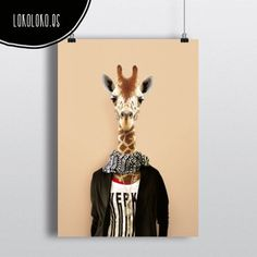 #animals #clothe #fashion #hipster #wild #poster