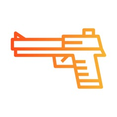See more icon inspiration related to gun, pistol, miscellaneous, pistols, handgun and weapons on Flaticon.