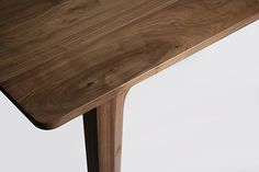 walnut table by luis luna