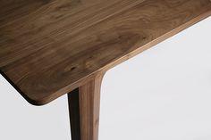 walnut table by luis luna