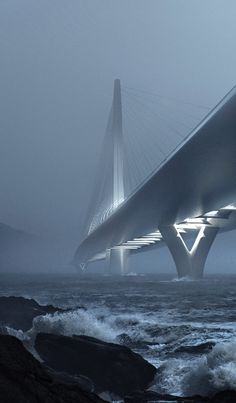 Zaha Hadid wins Taipei Tamsui River bridge contest