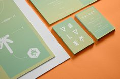 Velvet Agency Brand Identity System on Branding Served #colour