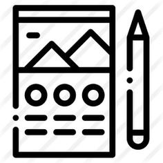 See more icon inspiration related to files and folders, ui, edit tools, theme, gallery, image, archive, layout, documents, pencil, files, document, file, web design and computer on Flaticon.