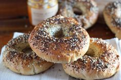 Arctic Garden Studio: Homemade Everything Bagels #food