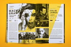Saskatchewan Jazz Festival 2011 on Behance #magazine