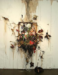 Flower Frenzy #valerie #hegarty #painting