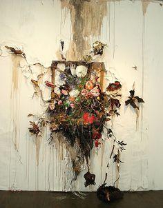 Flower Frenzy #valerie #hegarty #painting