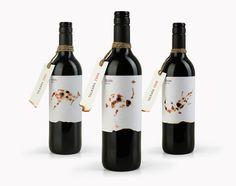 Australian shiraz wine label   Tulkara