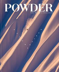 Powder Magazine December Cover