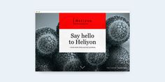 Say hello to Heliyon by Elsevier.