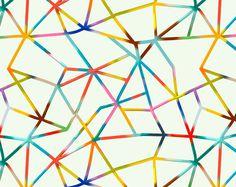 IOM www.santtumustonen.com #lines #restraint #color #paint #illustration