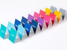 FFFFOUND! #colorful #spectrum #triangles #fold #peak #tents