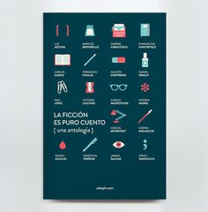 Book Design - La Ficción es Puro Cuento on the Behance Network #book
