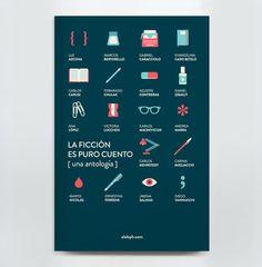 Book Design - La Ficción es Puro Cuento on the Behance Network