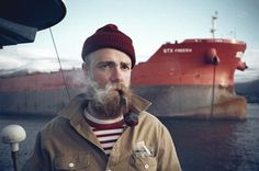 FFFFOUND! | CONVOY #man #pipe #boat