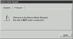 Index of MaisonMartinMargiela #website #maison #martin #margiela