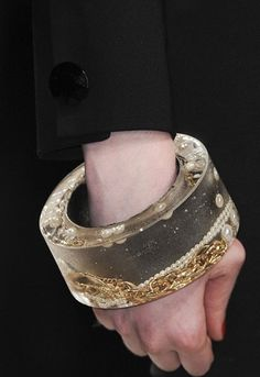 PPQ bracelet #resin #bracelet #jewellery #fashion #object
