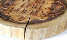 Tumblr #wood #typo