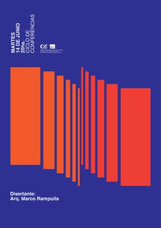 Colegio de Arquitectos on Behance #poster