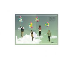 ERASMUS esdperience - Ana #balloons #sky #erasmus #design #students #fly #poster