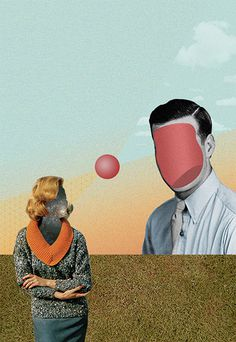 KOLARGE #surrealism #retro #illustrations #surrealist #vintage #collage