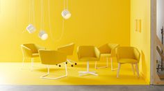 Stylex Ridge Guest #photography #yellow #set #interiordesign #chair #photoshoot