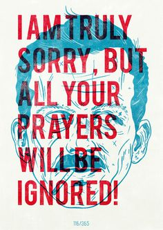 I am truly sorry..., by Hannes Beer #graphic design #design #creative #poster #inspiracion