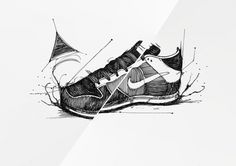 tribute to nike on the Behance Network #cultline