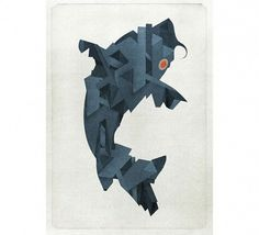 AgencyRush Illustration Agency | Eoin Ryan #print #fish #illustration
