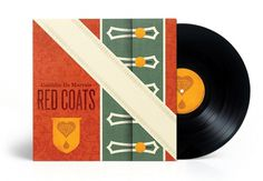 The Design Repository of Brad Surcey #red #coats #cover #record #vinyl