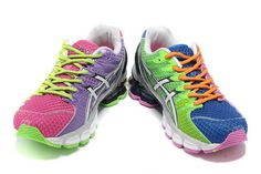 Womens Asics Gel Kinsei 4 T189N Fuschia Blue Shoes #shoes