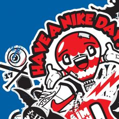 Nike Misc 2010 on the Behance Network #nike #illustration #branding #j3concepts