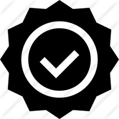 See more icon inspiration related to elections, votes, voting, vote, election, miscellaneous, badges, badge, checked, circular and check on Flaticon.