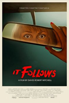 It Follows, David Robert Mitchell, Akiko Stehrenberger #movie #film #poster
