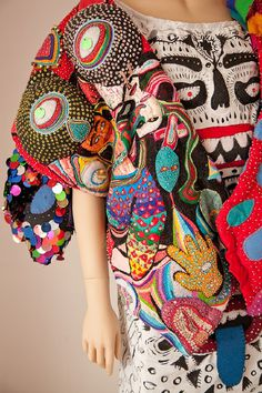 Carly_gallery_05.17.13 32_o 1 #fashion #pattern #clothing #psychedelic #patches #fsshion