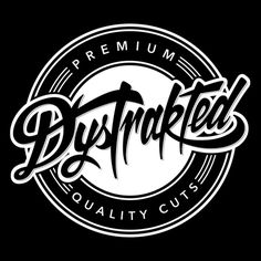 Premium Quality Cuts – Music Badge #quality #music #badge #logo #brand #identity #lettering #logo #record #vinyl #dj