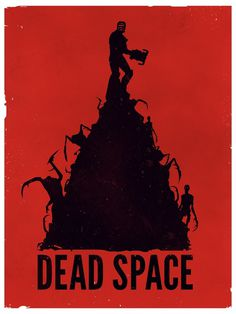 Game Posters on the Behance Network #vector #space #poster #dead #game #stereodvt