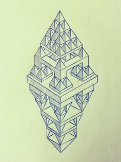 Gilgamesh #geometry #sketch #drawing